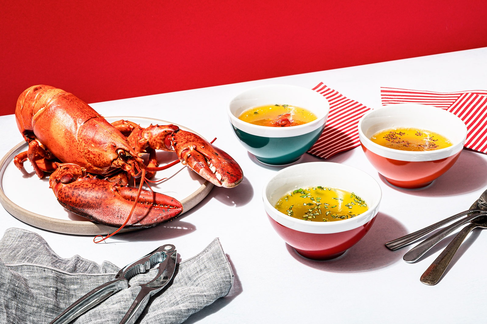 A Trio of Butters to Accompany Lobster