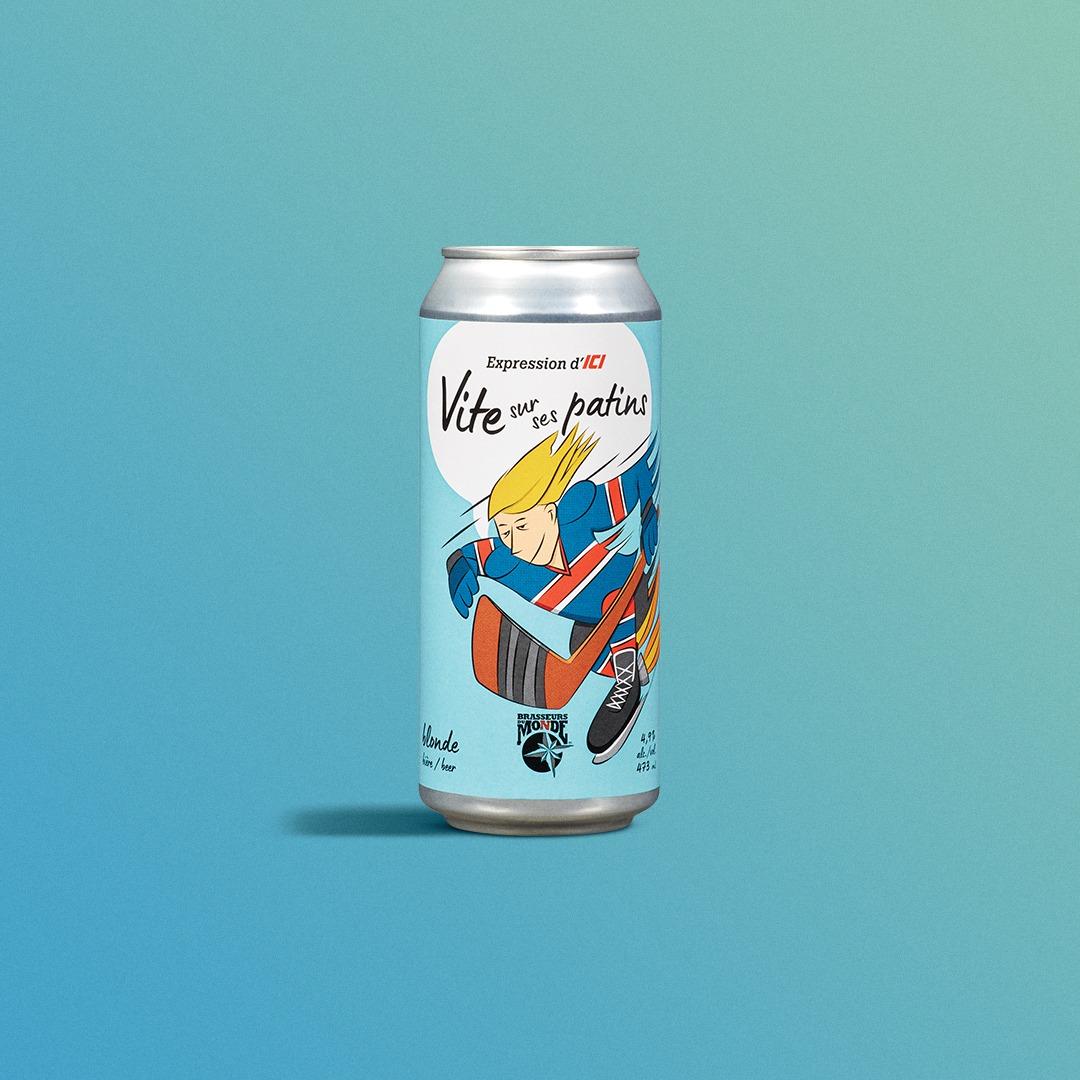 Vite Sur Ses Patins beer