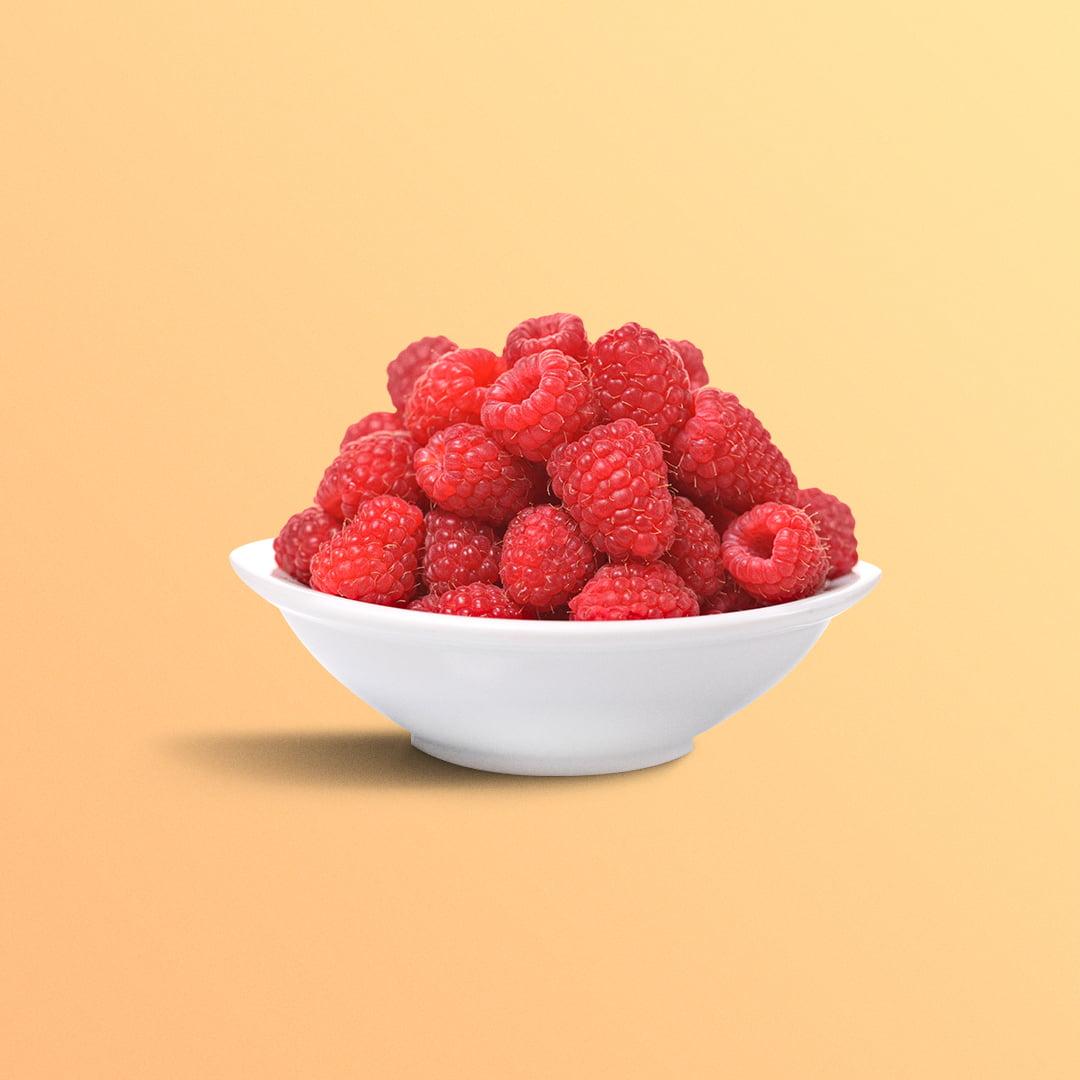 Raspberries from here