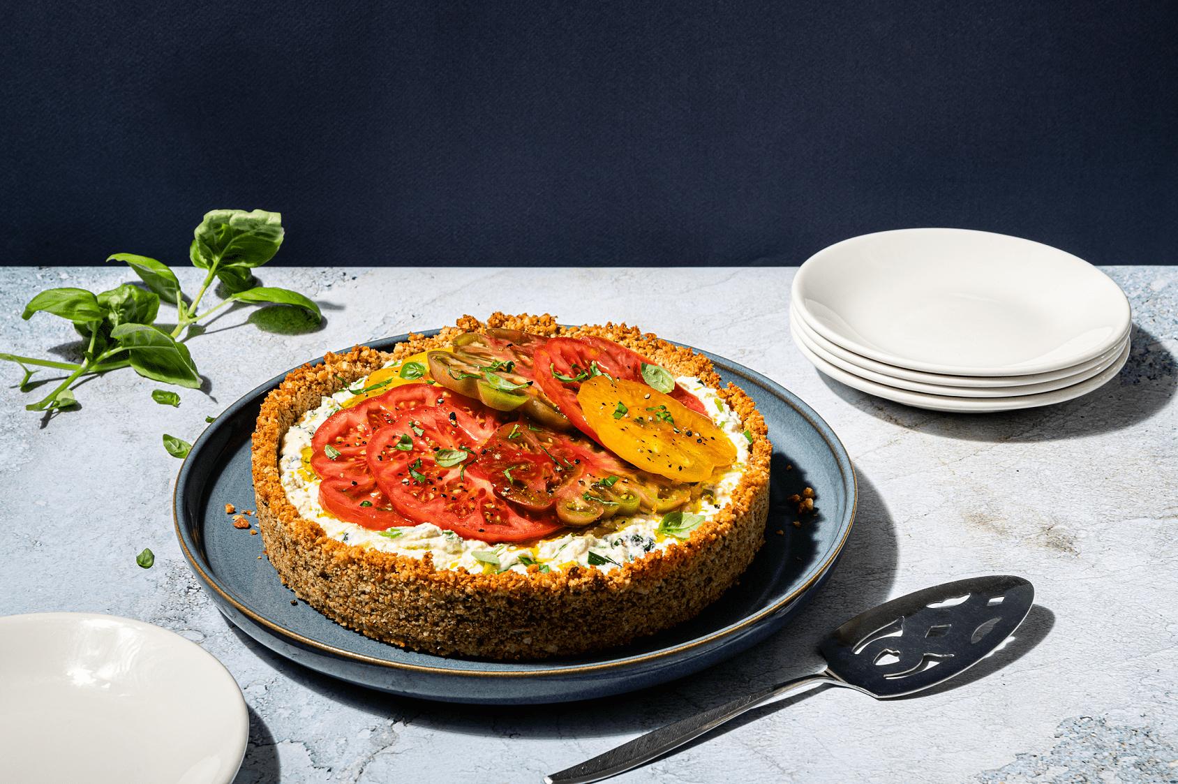 Cheese And Seasonal Tomato Tart